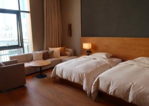 MUJI HOTEL ベッド